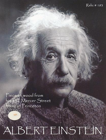 Todd Mueller Relic Card 183 - Albert Einstein