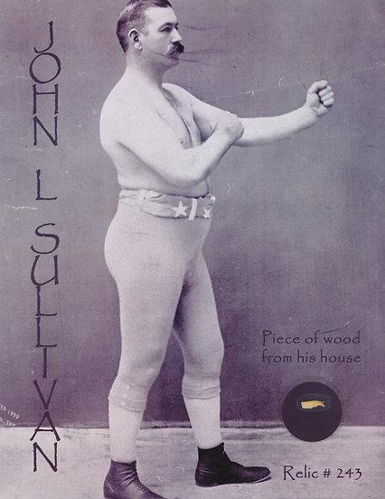 Todd Mueller Relic Card 243 - John L. Sullivan