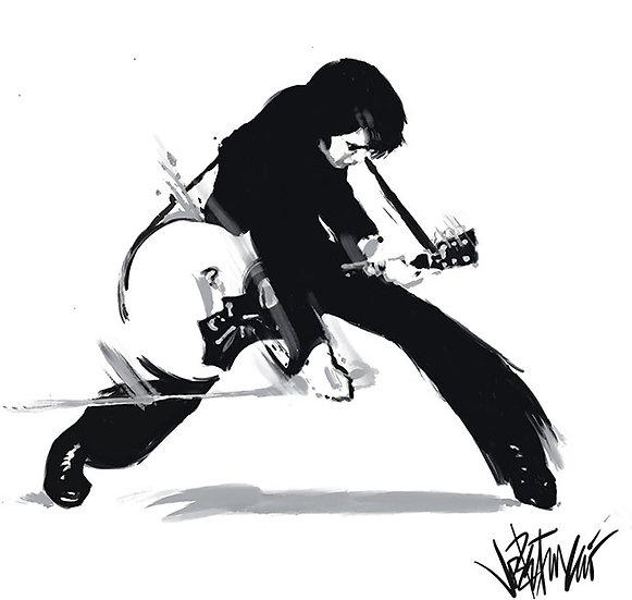 Elvis Presley VIVA ELVIS Limited Edition Fine Art by Joe Petruccio