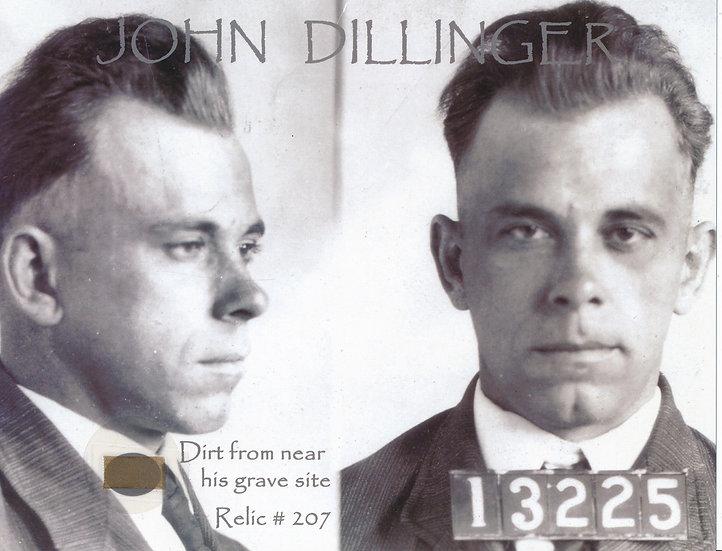 Todd Mueller Relic Card 207 - John Dillinger Gravesite