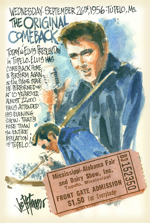 THIS DAY IN ELVIS HISTORY... THE ORIGINAL COMEBACK