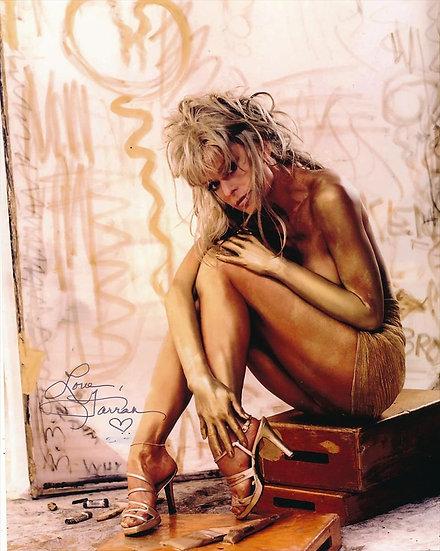 Farrah Fawcett Autographed 8x10 Topless 1997 Playboy Photo