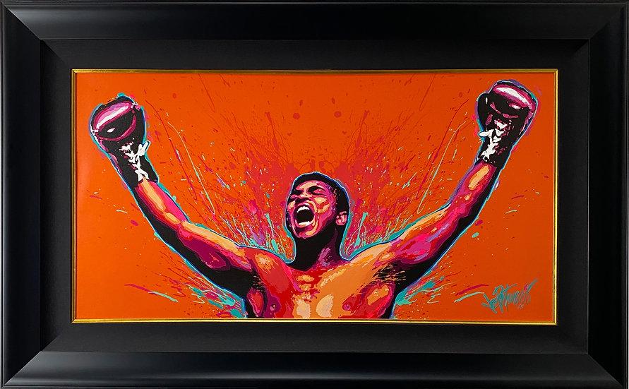 Muhammad Ali - LOUD and PROUD Master Edition Mixed Media Original