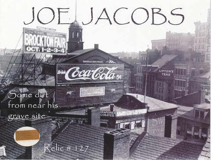 Todd Mueller Relic Card 127 - Dr. Joseph Jacobs Coca-Cola