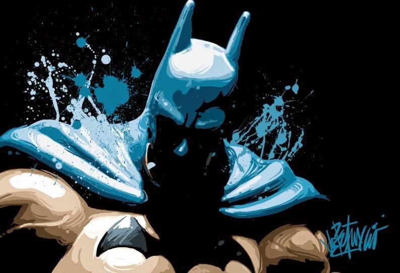 BATMAN: The Caped Crusader Limited Edition Fine Art by Joe Petruccio