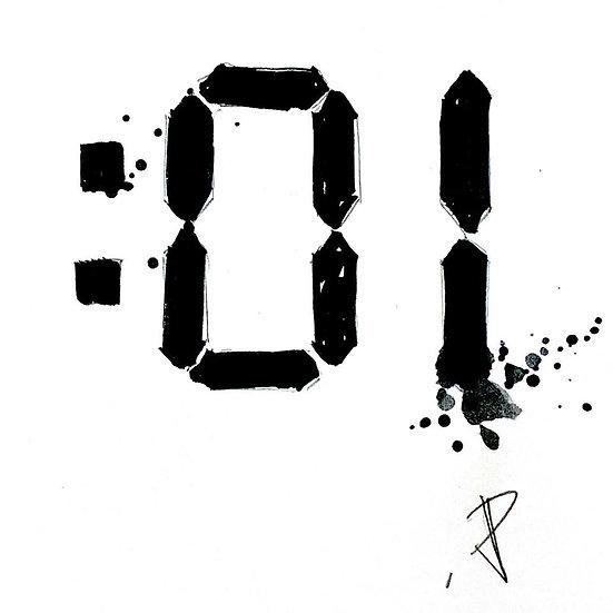 21 TREASURE Original Ink on Paper by Joe Petruccio