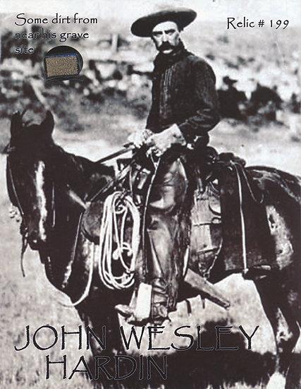 Todd Mueller Relic Card 199 - John Wesley Hardin Gravesite