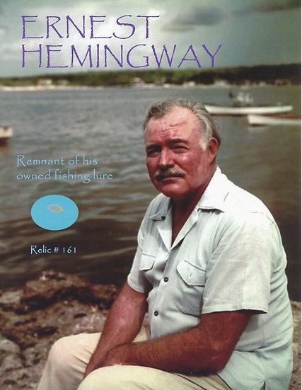 Todd Mueller Relic Card 161 - Ernest Hemingway Fishing Lure