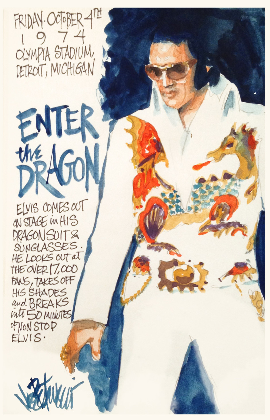 THIS DAY IN ELVIS HISTORY... ENTER THE DRAGON