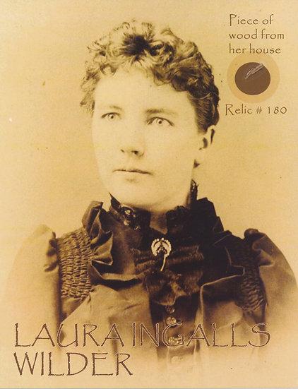 Todd Mueller Relic Card 180 - Laura Ingalls Wilder
