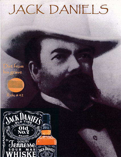 Todd Mueller Relic Card 042 - Jack Daniel's