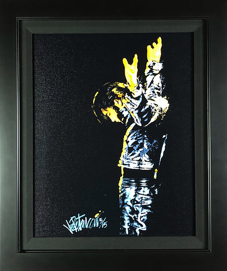 Elvis Presley RETURN OF THE KING Framed Limited Edition by Joe Petruccio