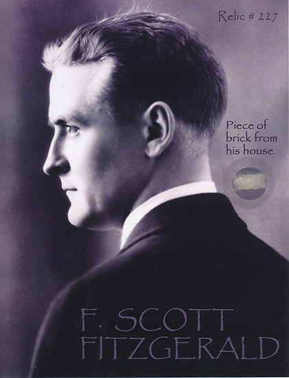 Todd Mueller Relic Card 227 - F. Scott Fitzgerald