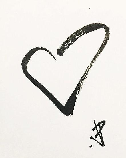 08 FRAIL Original Ink on Paper by Joe Petruccio