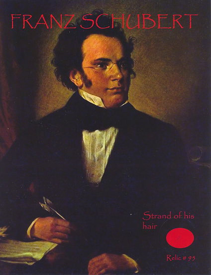 Todd Mueller Relic Card 095 - Franz Schubert