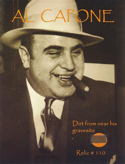 Todd Mueller Relic Card 110 - Al Capone Gravesite