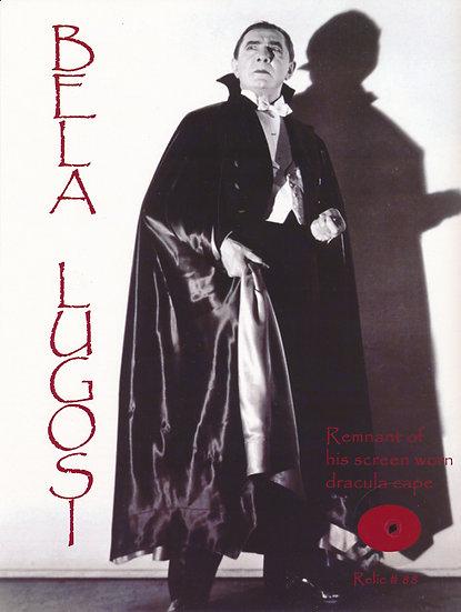 Todd Mueller Relic Card 088 - Bela Lugosi Screen Worn Dracula Cape