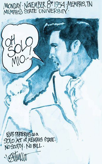 This Day in Elvis History 11-8-1954 OH SOLO MIO by Joe Petruccio