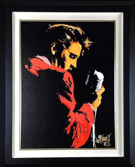 Elvis Presley MEMPHIS 56 Limited Edition Fine Art 18x24 by Joe Petruccio