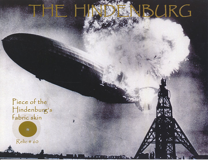 Todd Mueller Relic Card 060 - The Hindenburg Disaster
