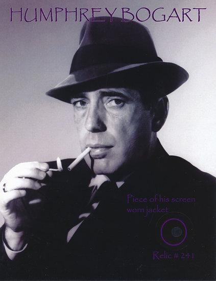 Todd Mueller Relic Card 241 - Humphrey Bogart Screen Worn Jacket