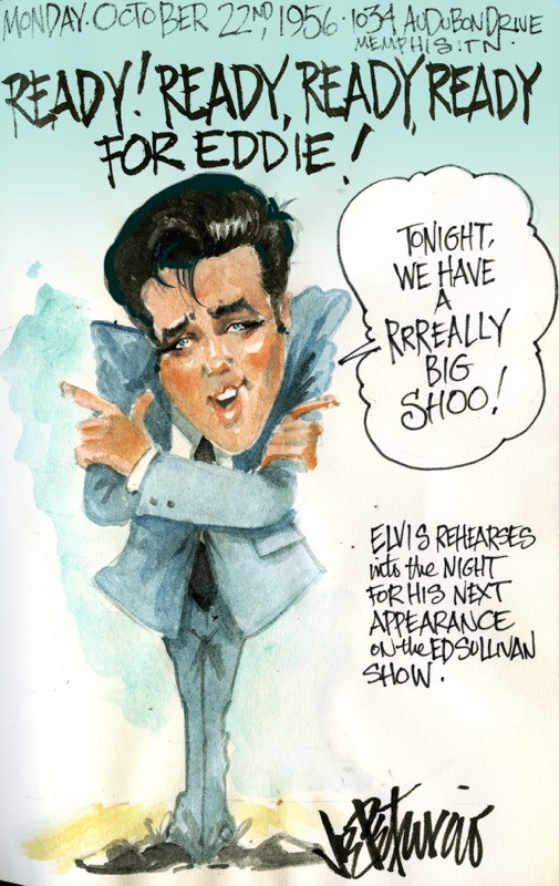 THIS DAY IN ELVIS HISTORY... READY FOR EDDIE!