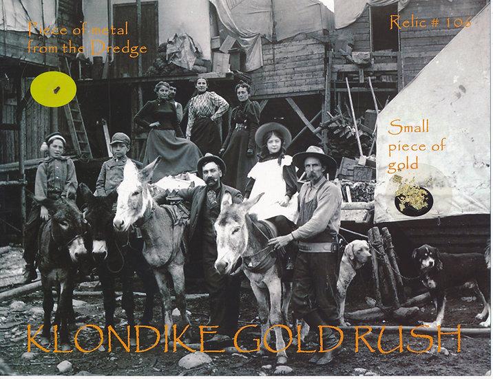 Todd Mueller Relic Card 106 - Klondike Gold Rush