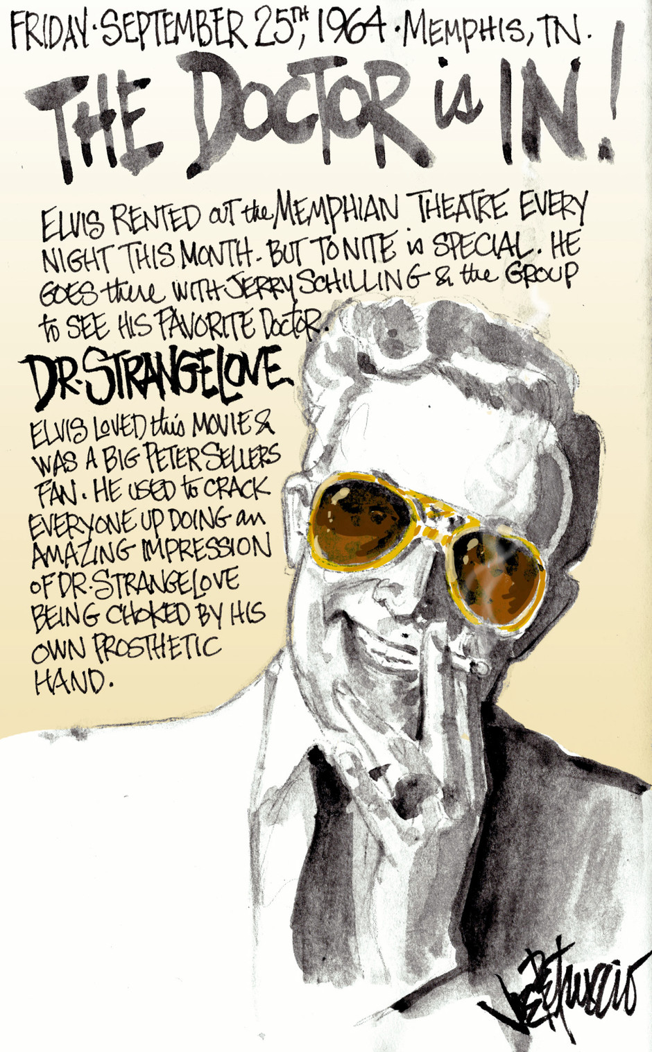 THIS DAY IN ELVIS HISTORY... THE DOCTOR IS IN!