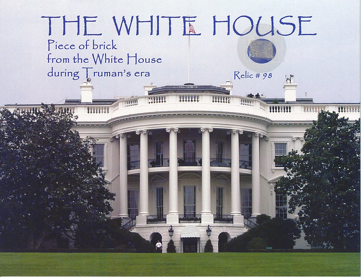 Todd Mueller Relic Card 098 - The White House