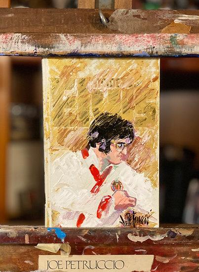 Elvis Presley INSIDE ELVIS Original Acrylic Painting by Joe Petruccio