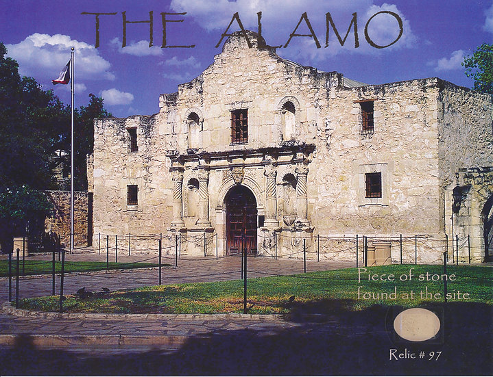 Todd Mueller Relic Card 097 - The Alamo
