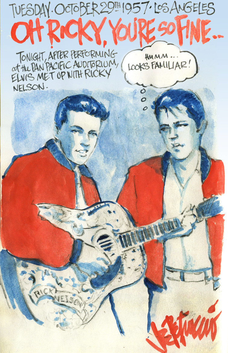 THIS DAY IN ELVIS HISTORY... OH RICKY, YOU'RE SO FINE