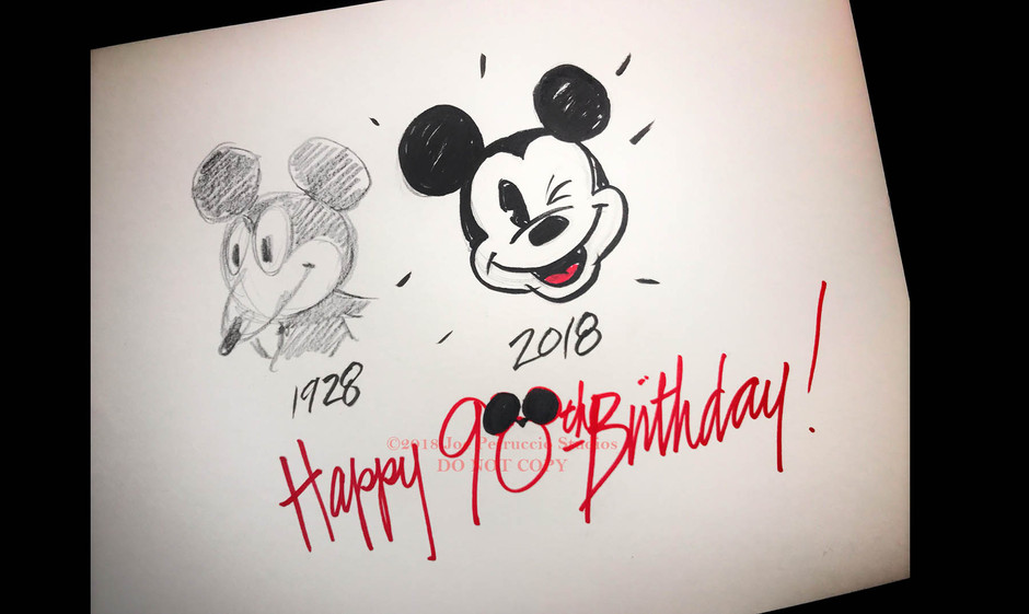 Look Who's 90! It's Mickey Mouse!