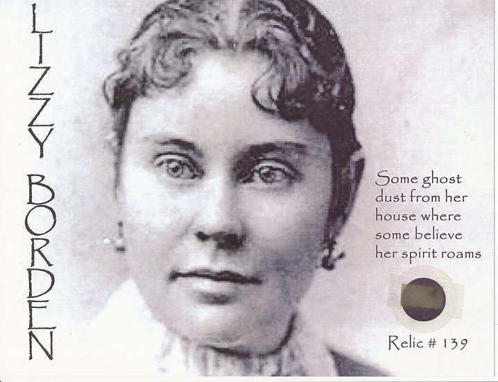 Todd Mueller Relic Card 139 - Lizzie Borden
