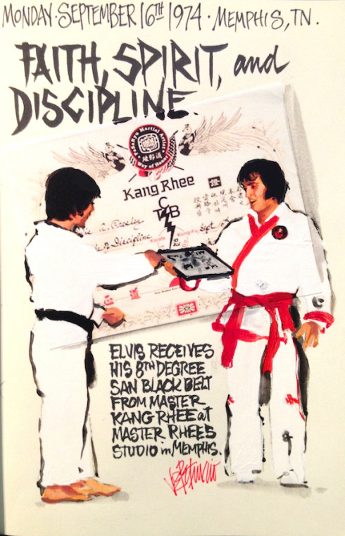THIS DAY IN ELVIS HISTORY... Faith, Spirit, and Discipline