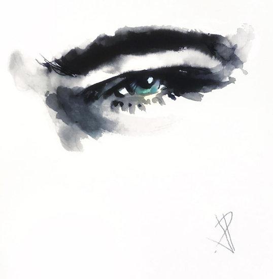 07 ENCHANTED Original Ink on Paper by Joe Petruccio - Elvis Presley