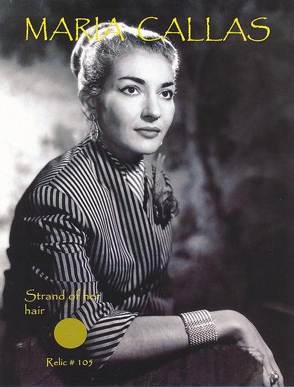Todd Mueller Relic Card 105 - Maria Callas