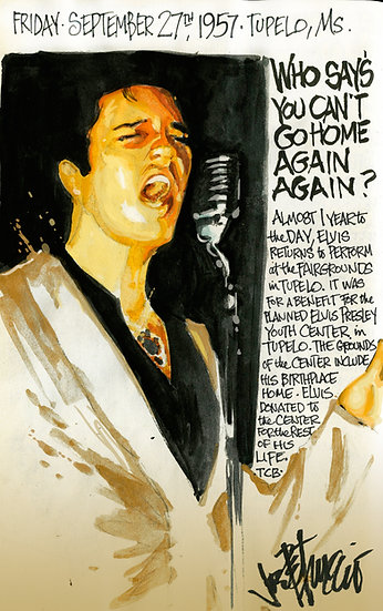 This Day in Elvis History 9-27-1957 HOME AGAIN AGAIN by Joe Petruccio