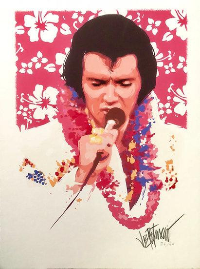 Elvis Presley ALOHA Limited Edition Fine Art by Joe Petruccio
