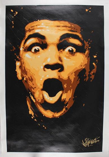 Muhammad Ali - I AM THE GREATEST Fine Art Limited Edition by Joe Petruccio