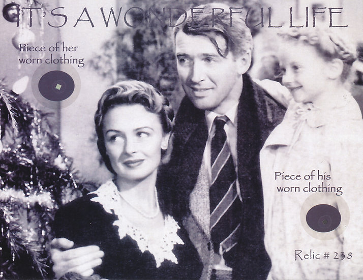 Todd Mueller Relic Card 238 - It's a Wonderful Life Cast