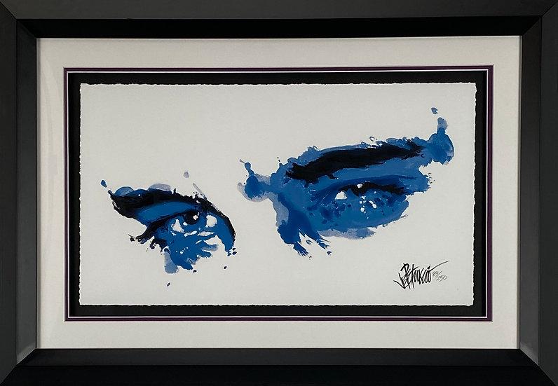 SURRENDER EYES Elvis Presley Fine Art Limited Edition by Joe Petruccio