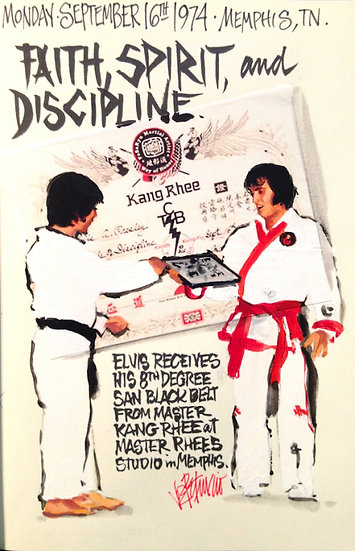 This Day in Elvis History 9-16-1974 FAITH SPIRIT DISCIPLINE by Joe Petruccio