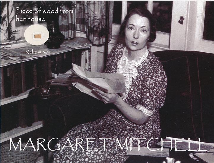 Todd Mueller Relic Card 030 - Margaret Mitchell