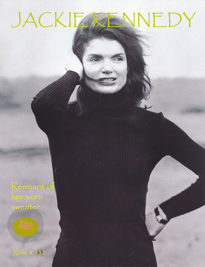 Todd Mueller Relic Card 132 - Jacqueline Kennedy