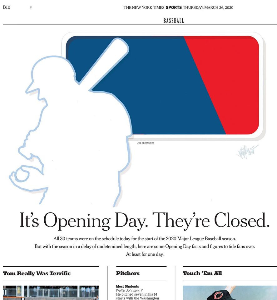 It's Opening Day. They're Closed. by Joe Petruccio