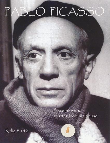Todd Mueller Relic Card 142 - Pablo Picasso