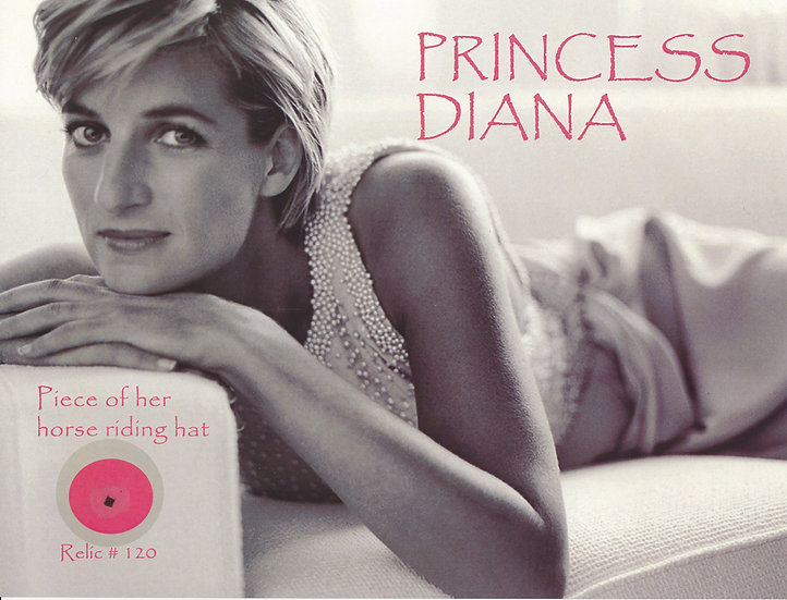 Todd Mueller Relic Card 120 - Princess Diana of Wales