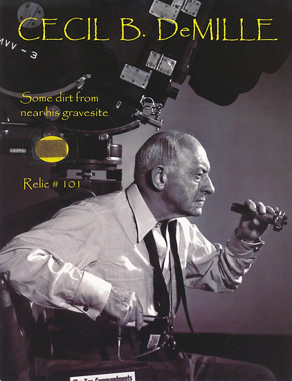 Todd Mueller Relic Card 101 - Cecil B. DeMille
