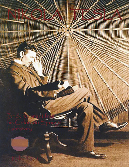 Todd Mueller Relic Card 151 - Nikola Tesla